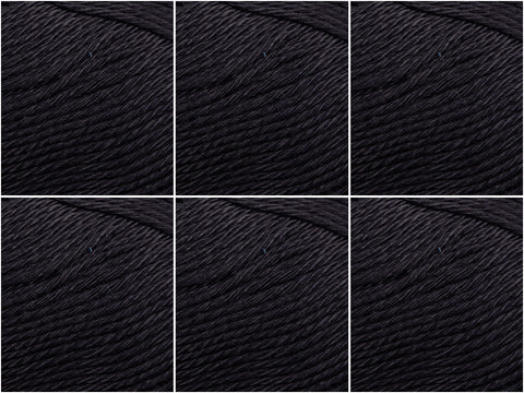 King Cole Giza Cotton 4 Ply - 6 Ball Value Pack