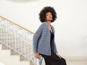 Cardigan in Rowan Kid Classic