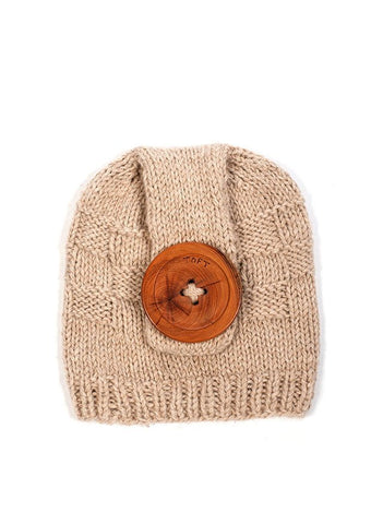 Button Hat in TOFT Aran - Digital Version-Deramores