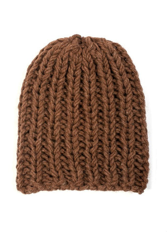 Giant Beanie in TOFT Chunky - Digital Version-Deramores