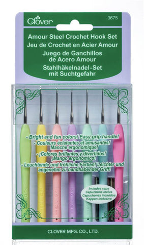 Amour Crochet Hook Set - 0.60mm-1.75mm-Deramores