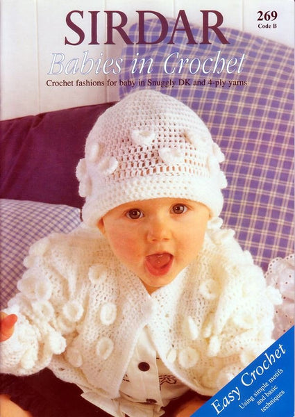 Babies in Crochet by Sirdar (269B)