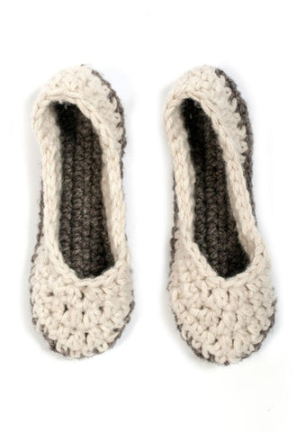 Crochet Slippers in TOFT Chunky - Digital Version-Deramores