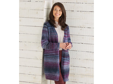 Longline Jacket in Sirdar Jewelspun (10029)