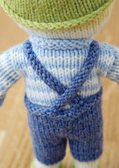 Pip Doll in Deramores Baby DK (1004)