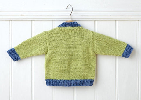 Cardigan in Deramores Baby DK (1005) Digital Version-Deramores