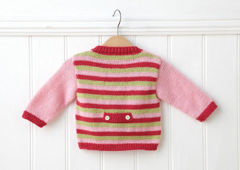 Cardigan in Deramores Baby DK (1008) Digital Version-Deramores
