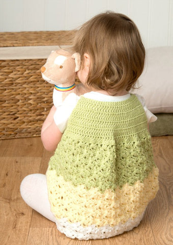 Crochet Tunic and Shrug in Deramores Baby DK (1010)-Deramores