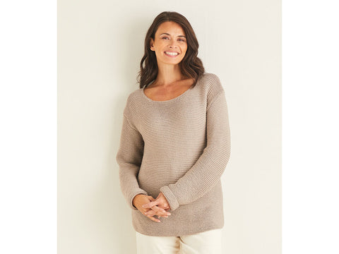 Sweater Knitting Kit and Pattern in Sirdar Yarn (10101)