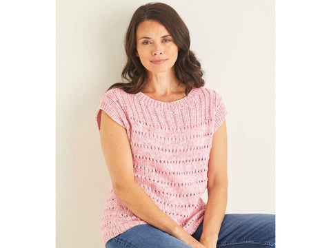 Tops Knitting Kit and Pattern in Sirdar Yarn (10109)