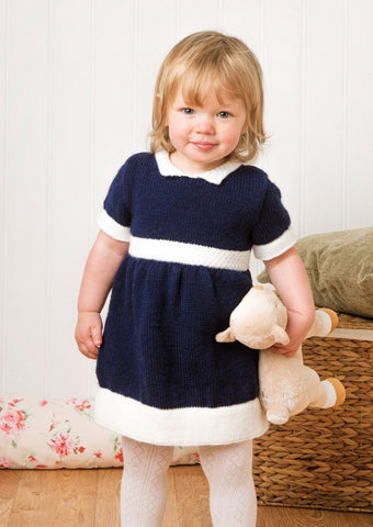 Dress in Deramores Baby DK (1014) Digital Version-Deramores