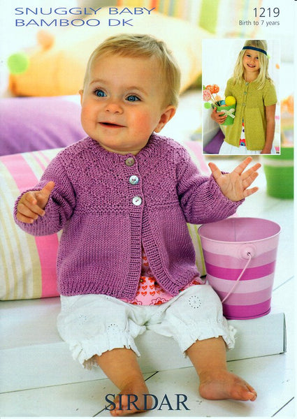 Knitting Pattern For Oxfam Jumper : Cardigans in Sirdar Snuggly Baby Bamboo DK (1219)   Deramores