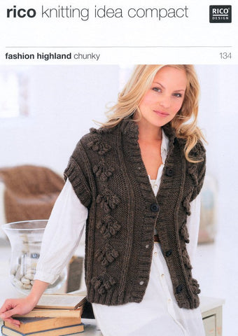 Gilets in Rico Design Fashion Highland Chunky (134)-Deramores