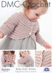 DMC Crochet Baby Girls' Bolero (14933L/2)