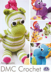 amigurumi safari animals by dmc