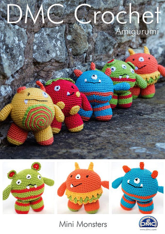 DMC Crochet Mini Monsters (15049L/2)-Deramores
