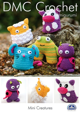 DMC Crochet Mini Creatures (15050L/2)-Deramores