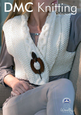 Short Gilet in DMC Woolly (15131L/2)
