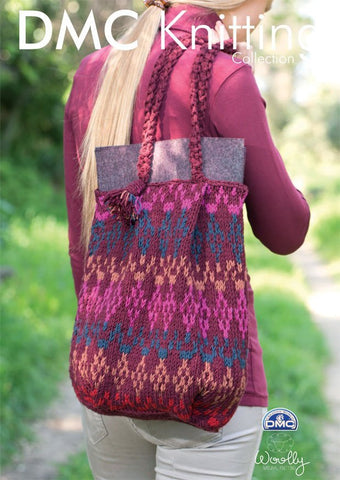 Tote Bag in DMC Woolly (15135L/2)