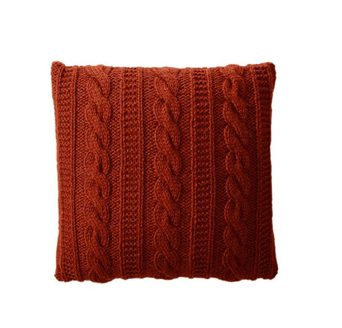 Cable Stitch Cushion in Bergere de France Alaska (700.55)-Deramores
