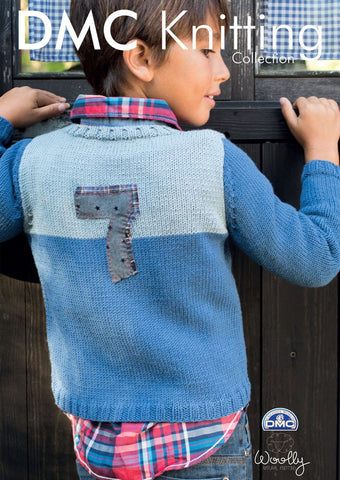 Boys Jumper in DMC Woolly (15289L/2)-Deramores