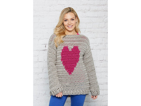 Crochet Now Seriously Lovely Jumper Colour Pack in Cygnet Yarns Seriously Chunky Metallics