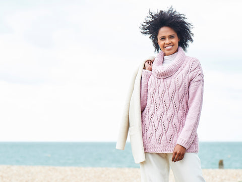 Sweater and Cardigan Knitting Kit and Pattern in Stylecraft Yarn (9816)