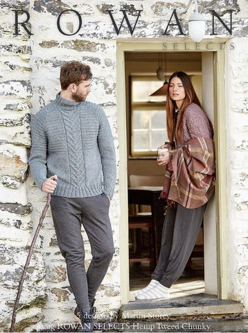Rowan Hemp Tweed Chunky Collection