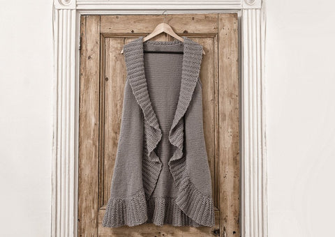 Waistcoat in Deramores Vintage Chunky (2001)