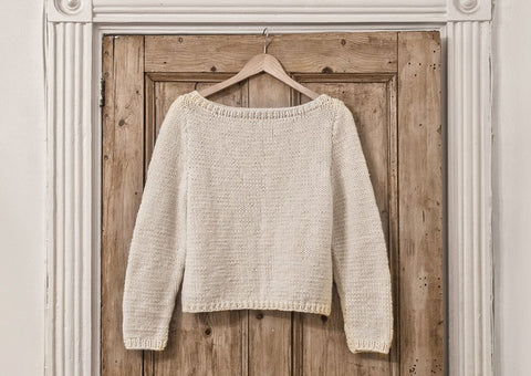 Sweater in Deramores Vintage Chunky (2006)