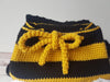 Bumble Bee Childs Backpack Crochet Kit and Pattern in Deramores Yarn