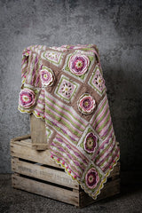 Stylecraft Lily Pond Blanket in Special DK Cherry Blossom Colour Pack
