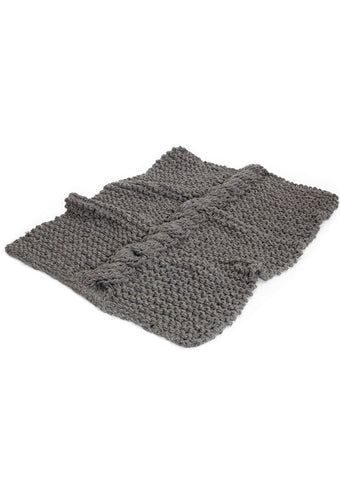 Cable Throw in TOFT Chunky - Digital Version-Deramores