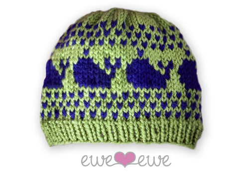 Preppy Hats in Ewe Wooly Worsted (212)
