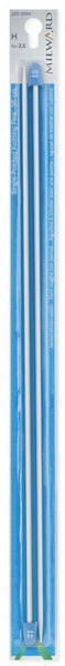 Milward Single Point Knitting Needles (Aluminium) - 35cm (Pair)