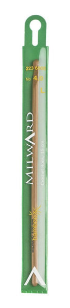 Milward Crochet Hook (Bamboo) - 15cm