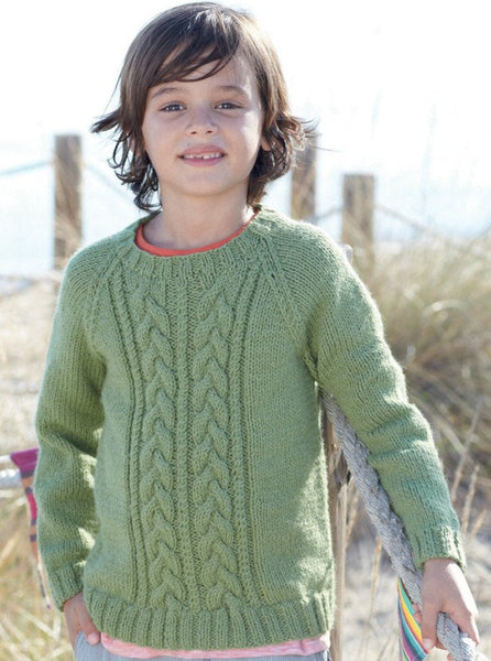 Boys Cable Sweaters in Sirdar Supersoft Aran (2455)