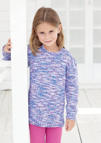 Children's Sweaters in Sirdar Snuggly Jolly (2458)-Deramores