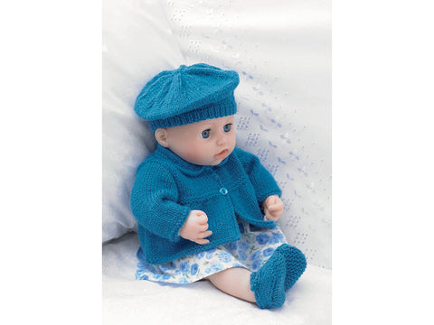 Jacket, Beret, Shoes and Pants in Hayfield Bonus DK (2483)