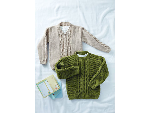 Sweaters in Sirdar Supersoft Aran (2505S)