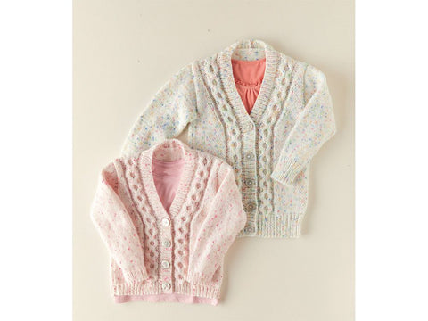 Cardigans Knitting Kit and Pattern in Sirdar Yarn (2525)