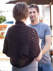 Show Off Shrug in Ewe Wooly Worsted (252)