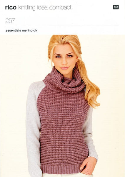 Sweaters in Rico Design Essential Merino DK (257)