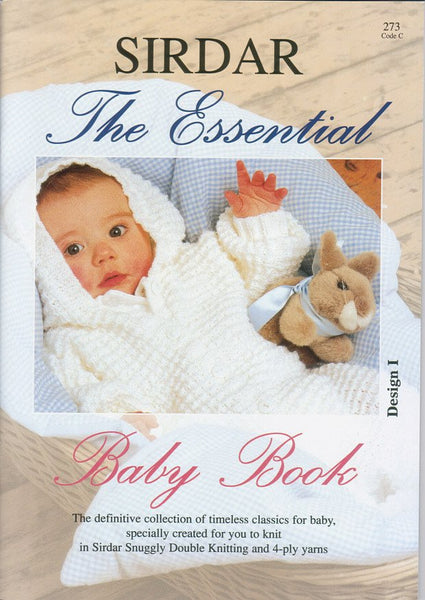 The Essential Baby Book by Sirdar (273C)