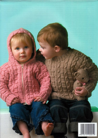 Sweater, Jacket & Sleeping Bag in King Cole DK (2766)