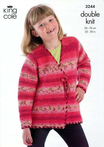 Cardigans in King Cole Splash DK (3244)