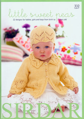 Little Sweet Peas in Snuggly DK by Sirdar (332C)