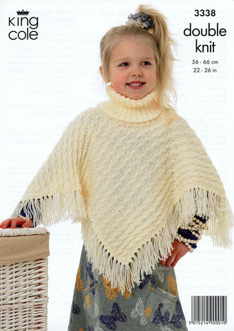 Poncho Knitting Patterns | Buy Poncho Patterns | Deramores