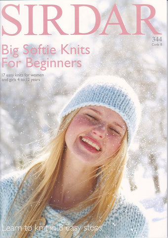 Big Softie Knits for Beginners by Sirdar (344B)