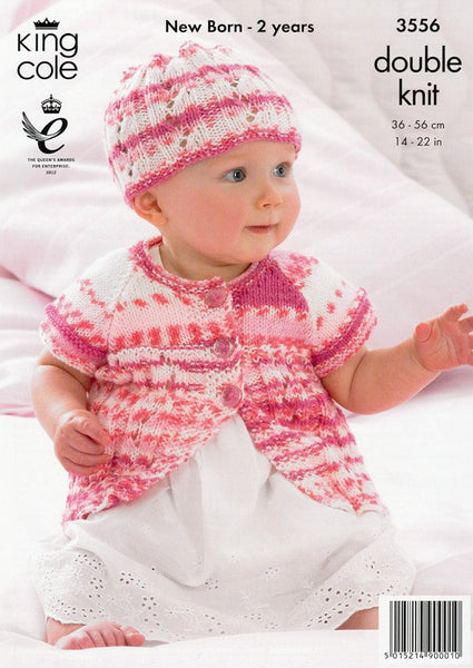 Coats and Hats in King Cole DK (3556)-Deramores